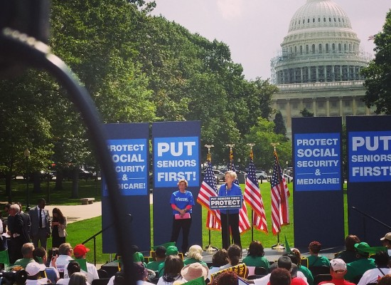 #HandsOff Our Social Security & Medicare Rally