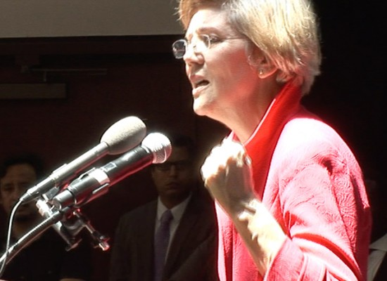 Sen Warren at New Populism Conference